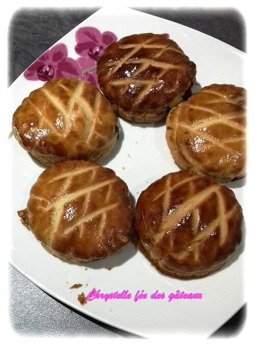 minis galettes