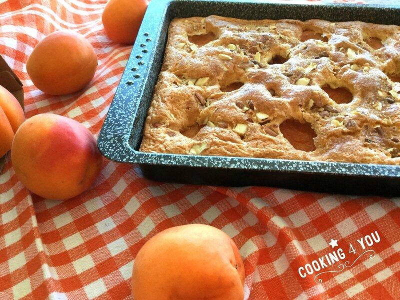 Gâteau clafoutis aux abricots 117