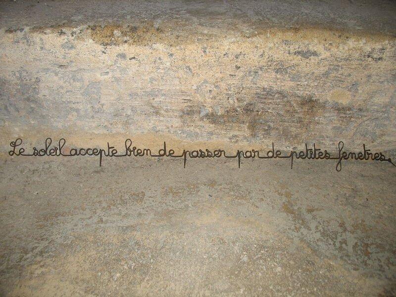 Les petites phrases d 39 agapi shopping chez agapi - Phrase en fil de fer ...