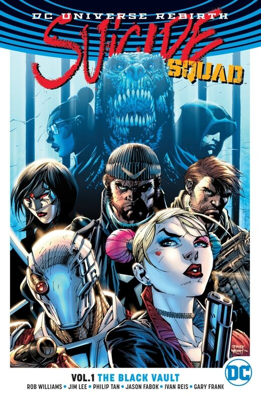 rebirth suicide squad vol 01 the black vault TP