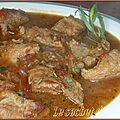 Ragoût de veau à l'estragon