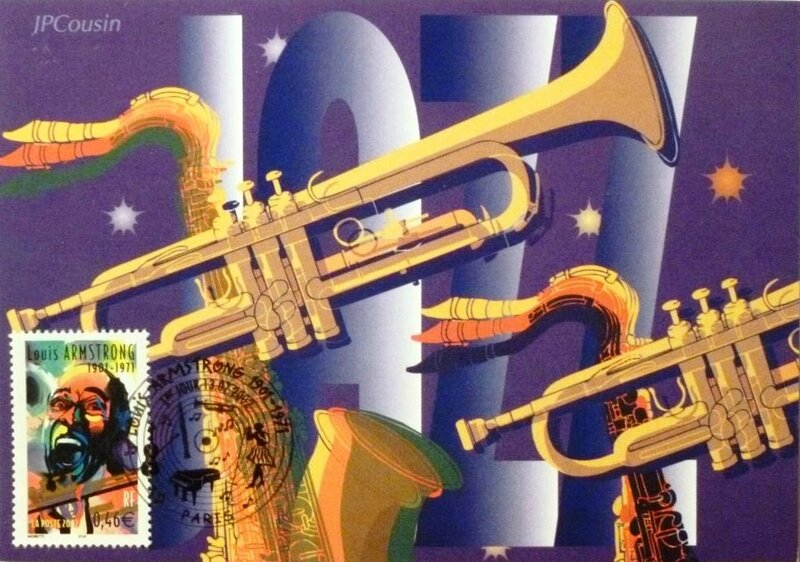 CPM Jazz Louis Timbre Armstrong 2002