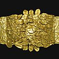 An etruscan gold wreath, circa late 4th/early 3rd century b.c.