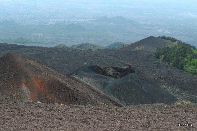 Cratère Silvestri inférieur - Etna - Sicile