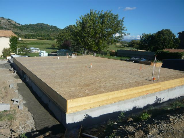 31 aout 2012 autoconstruction d 39 une maison a ossature bois for Autoconstruction maison