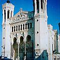 balade sur les toits de la basilique notre-dame de fourviere(lyon/colline de fourvière/rhône)