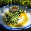 Salade d'aspergettes