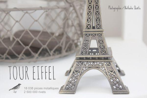 Tour Eiffel L'Atelier de Framboise Chocolat