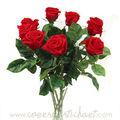 bouquet de roses stabilisées www.coeurdartichaut.com