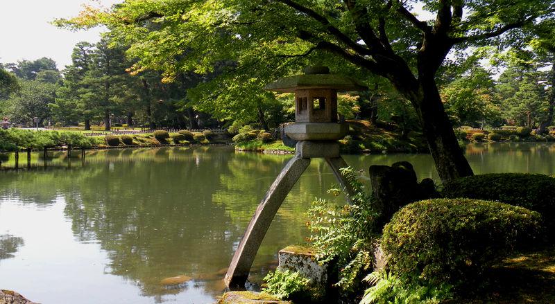 Le kenroku en jardin paysager de kanazawa le for Jardin kenrokuen
