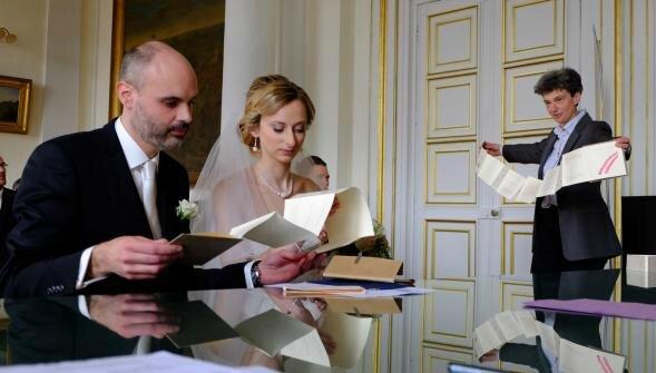 La poèsie invitée surprise au mariage à la mairie de Saint-Omer
