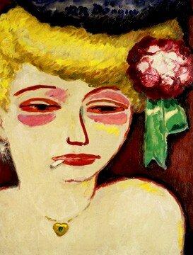 Femme___la_Cigarette_1905_8_circa_de_Kees_Van_Dongen