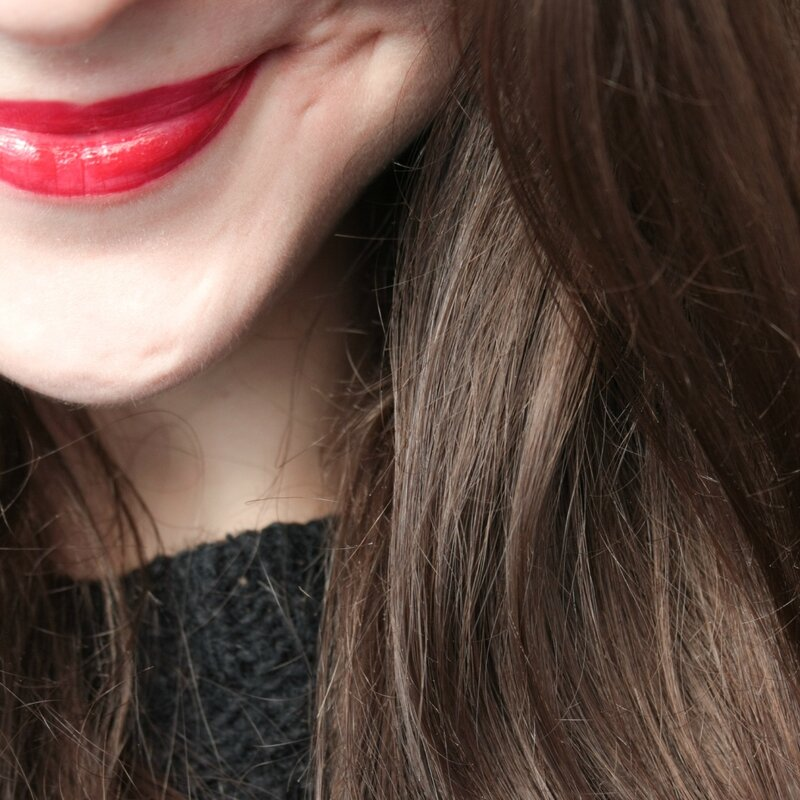 bourjois rouge edition aqua laque red my lips