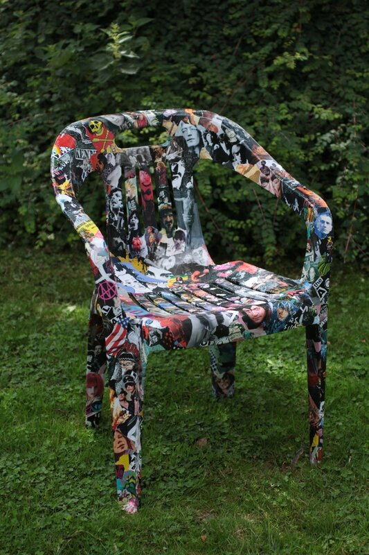 Customisation de chaise v ro hoezelle - Customiser des chaises ...