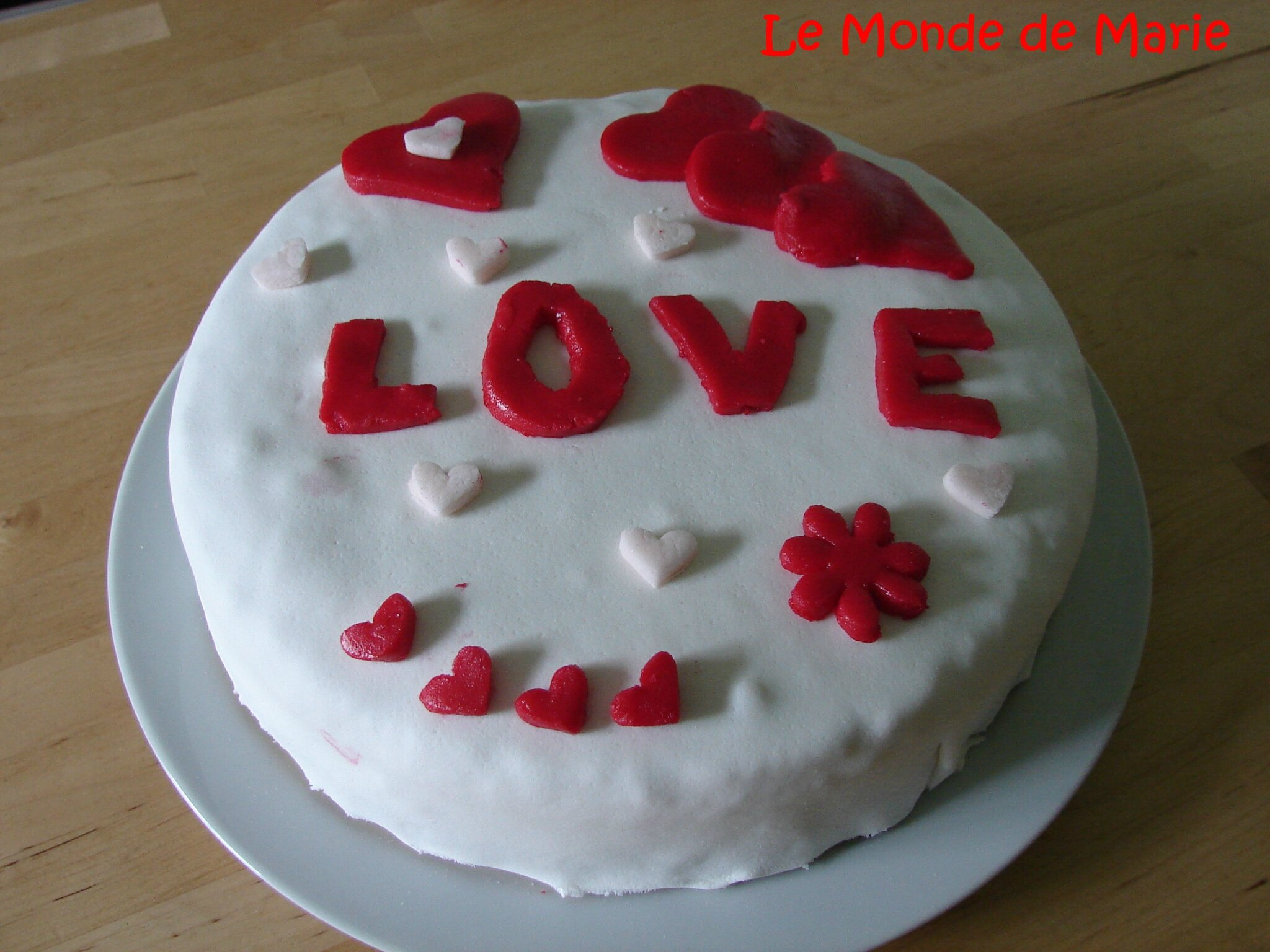 Decoration gateau st valentin for Decoration porte st valentin