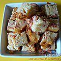 Cake au chorizo et au fromage à raclette