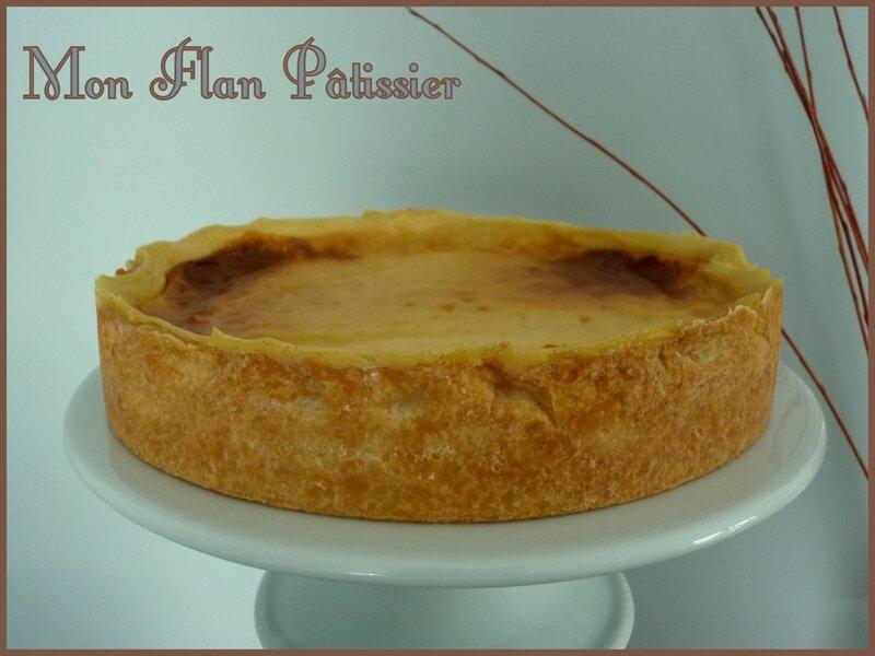 mon flan pâtissier1