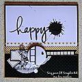 Carte happy birthday par sévy