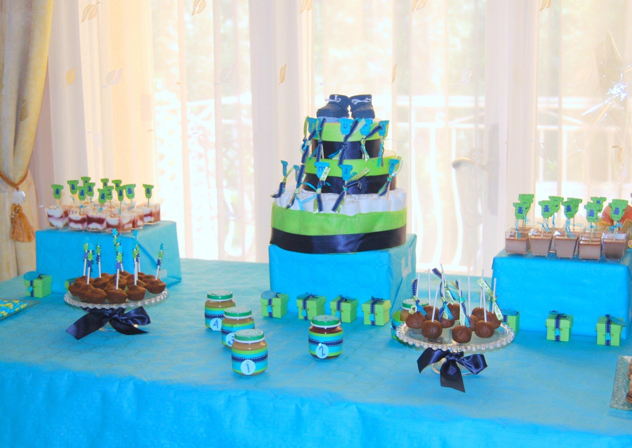 Turqouis verts gâteaux de mariage