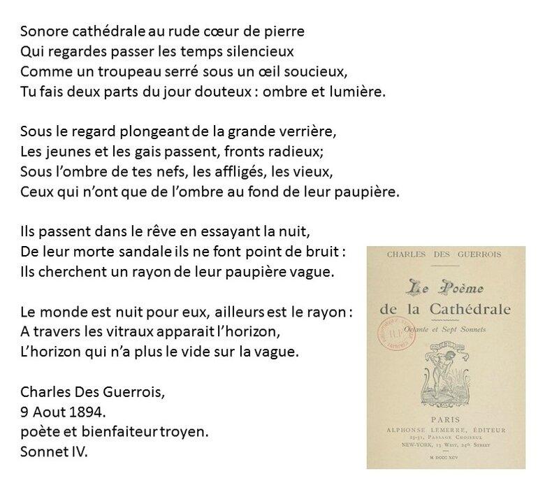 Des Guerrois Cathédrale Sonnet 4