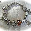 bracelet faon pandora