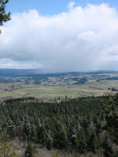 2008 04 14 Paysage vu depuis le Pic du Lizieux