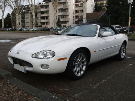 JAGUAR XKR Convertible Retrorencard 1
