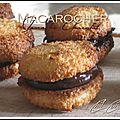 Macarochers (ganache chocolat)