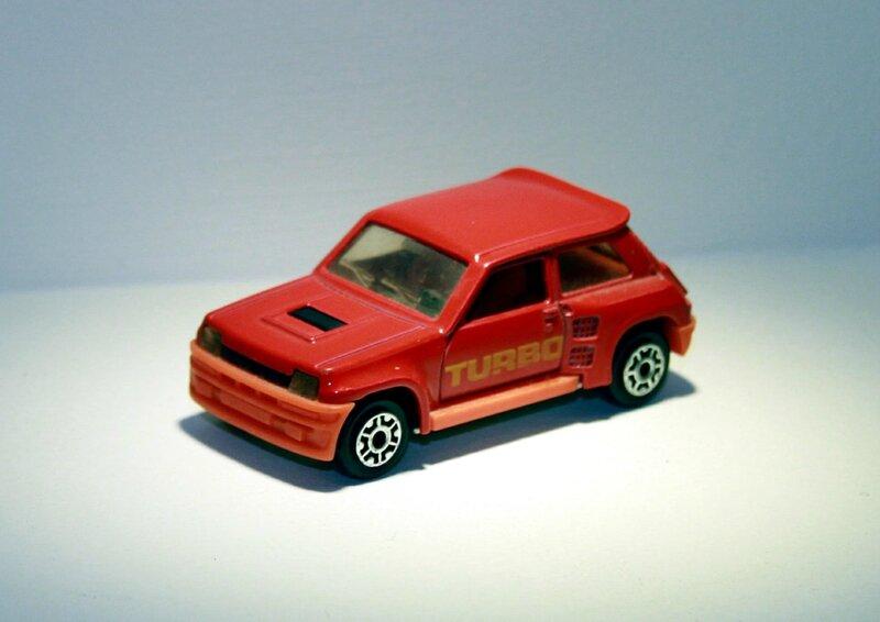 Renault 5 turbo de chez Majorette (ref 255) 01