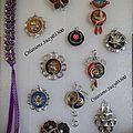 Bijoux capsules nespresso (suite)+ bijoux languettes de soda + des bijoux en fil alu