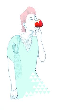 fille_pomme