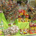 Vitrine d'un magasin de bonbons
