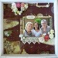 Des fleurs pour un portrait de famille