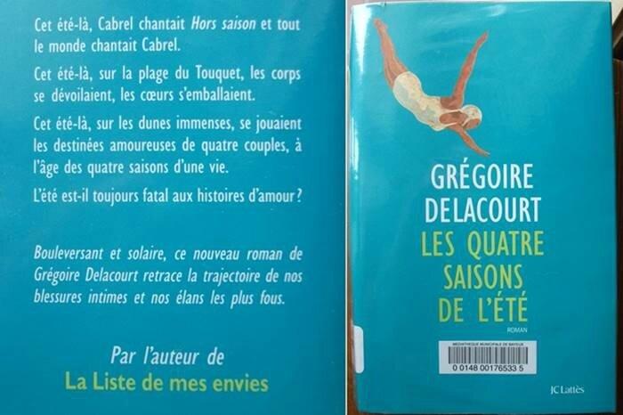 gregoire delacourt_les quatre saisons de l ete_lu 2017 06