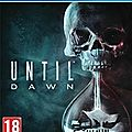 Until dawn, la vrai peur !
