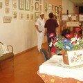 salle des fêtes, expo de point compté