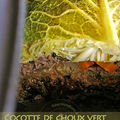 Cocotte de choux vert
