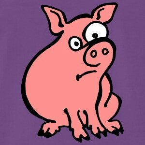 cochon-debile-tee-shirts-t-shirt-premium-homme
