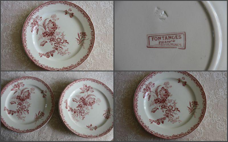 Vaisselle Anglaise Ancienne #9: MA BROCANTE 20115