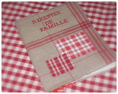 Cahier de recettes de famille - en boutique