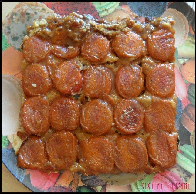 Tatin abricots 3