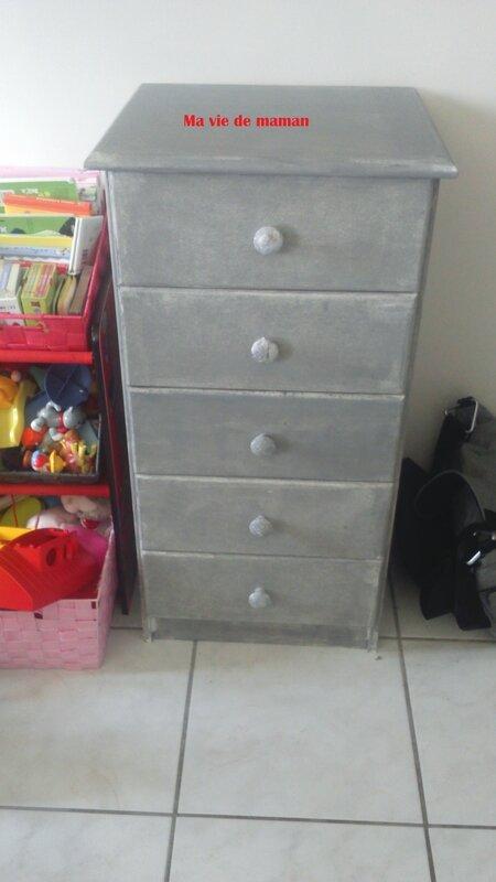 Custumiser un meuble ma vie de maman fois 4 - Peinture grey wash ...