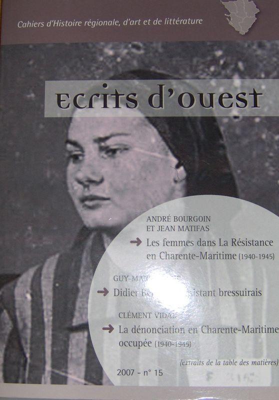 ECRITS D'OUEST