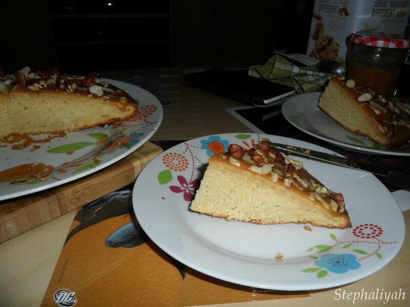 Gâteau caramel beurre salé -- 4