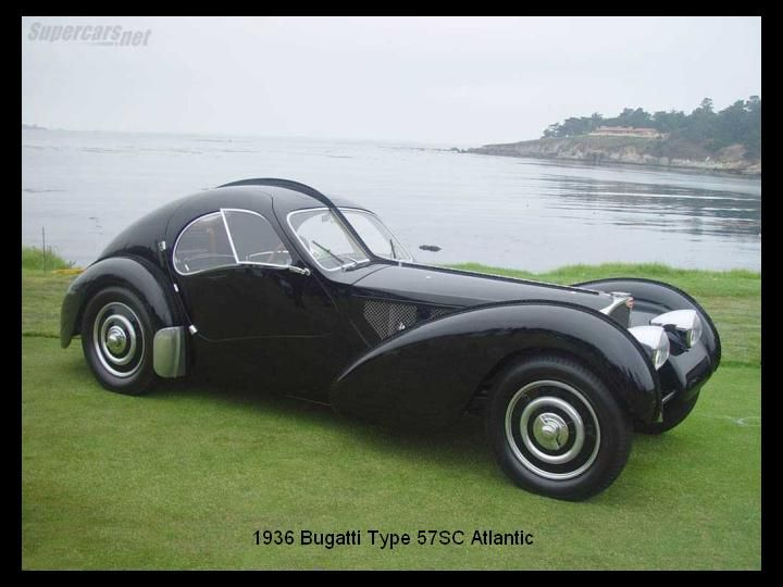 1936 - Bugatti Type 57SC Atlantic..