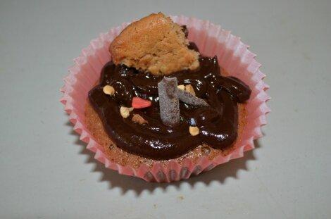 Cupcakes au Kinder® de Marinette à sa façon