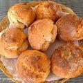 Petits pains à l'épeautre et au kamut.