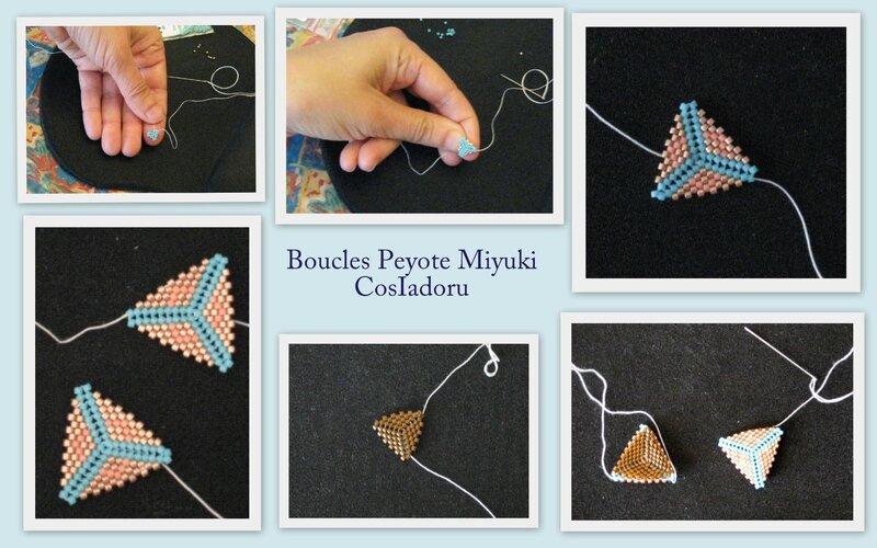 Boucles peyote Miyuki
