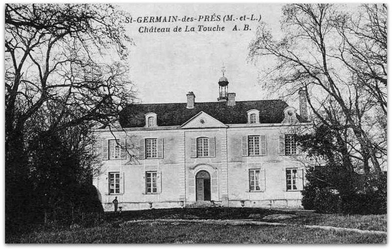 St-Germain des Prés - château de la Touche zzz