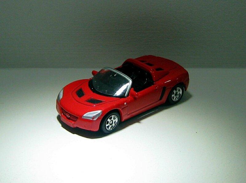 Opel speedster de 2001 (ref 2225)(Welly)